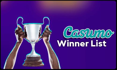 Casumo Winner List