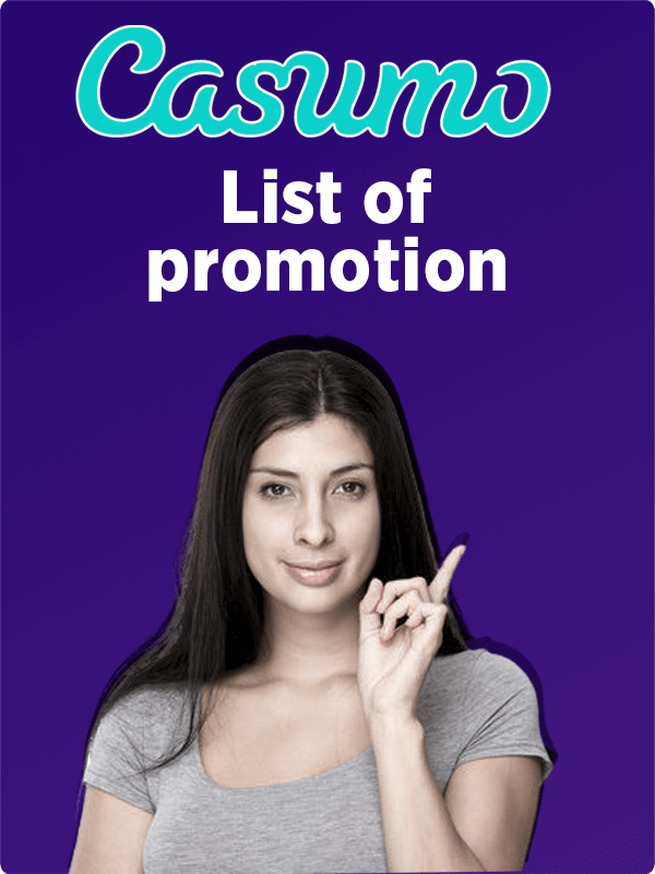 list of Casumo promotions