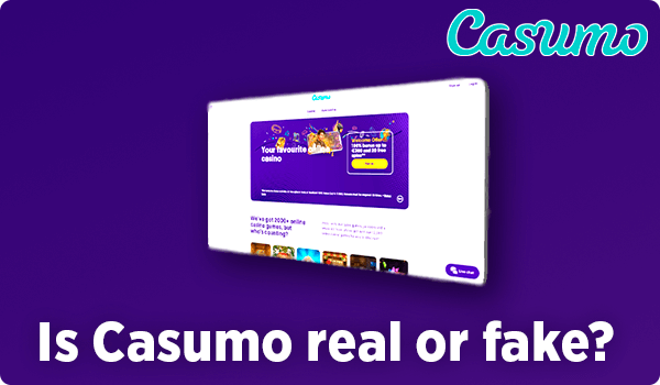 Is Casumo real or fake?