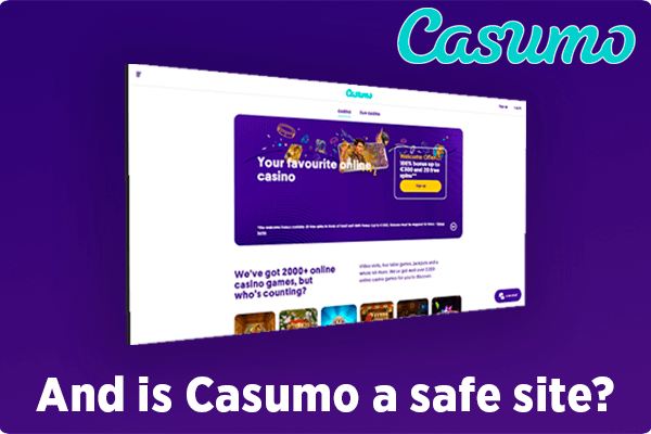 And is Casumo a safe site?