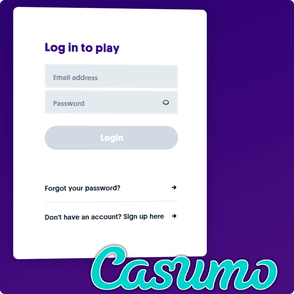 How to Log in to your new account