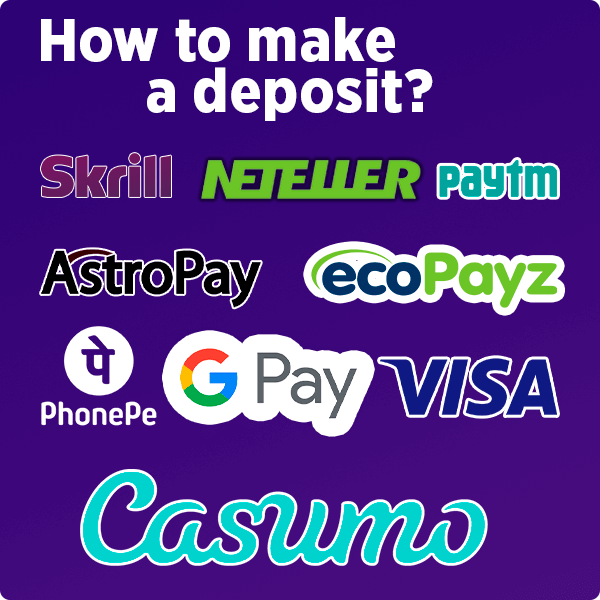 How to make a deposit?