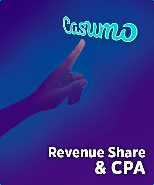 Casumo Affiliates Commission – Revenue Share & CPA