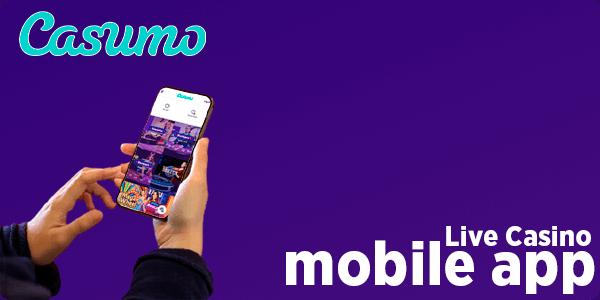 Live Casino mobile app