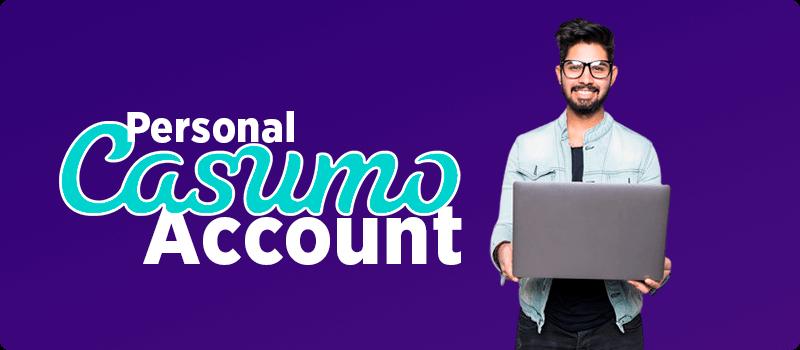 Casumo Personal account