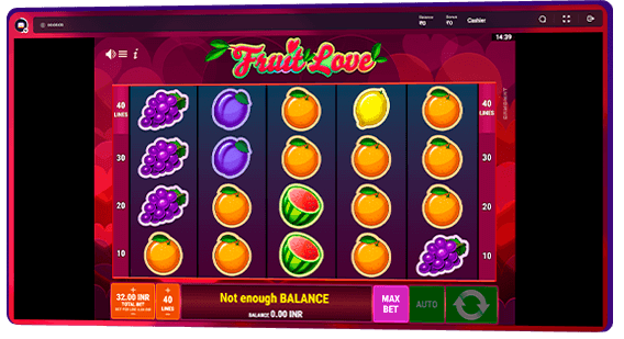 the simplest fruit machines
